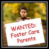 Child with Foster Care Wanted Poster
