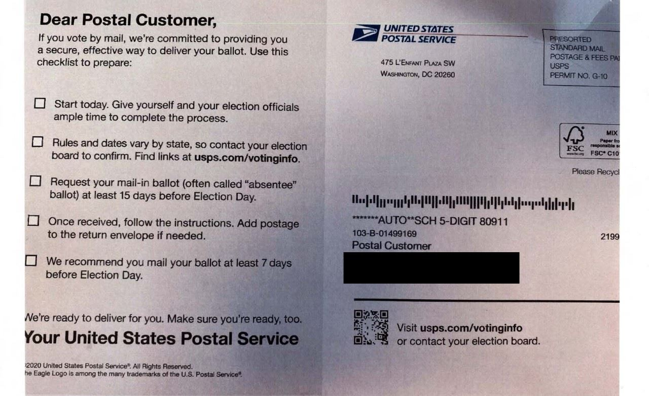 clerks-office-warns-voters-about-united-states-postal-service-mailer-containing-misleading-informati
