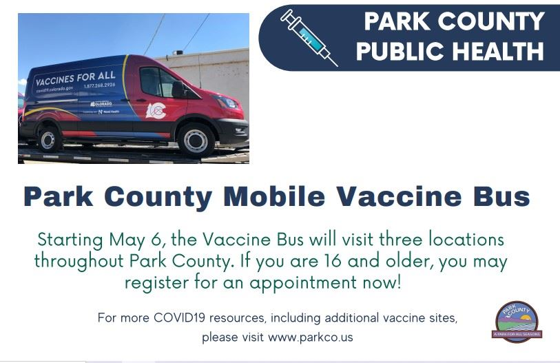 Vaccine Bus Coming to Park County Week of May 6