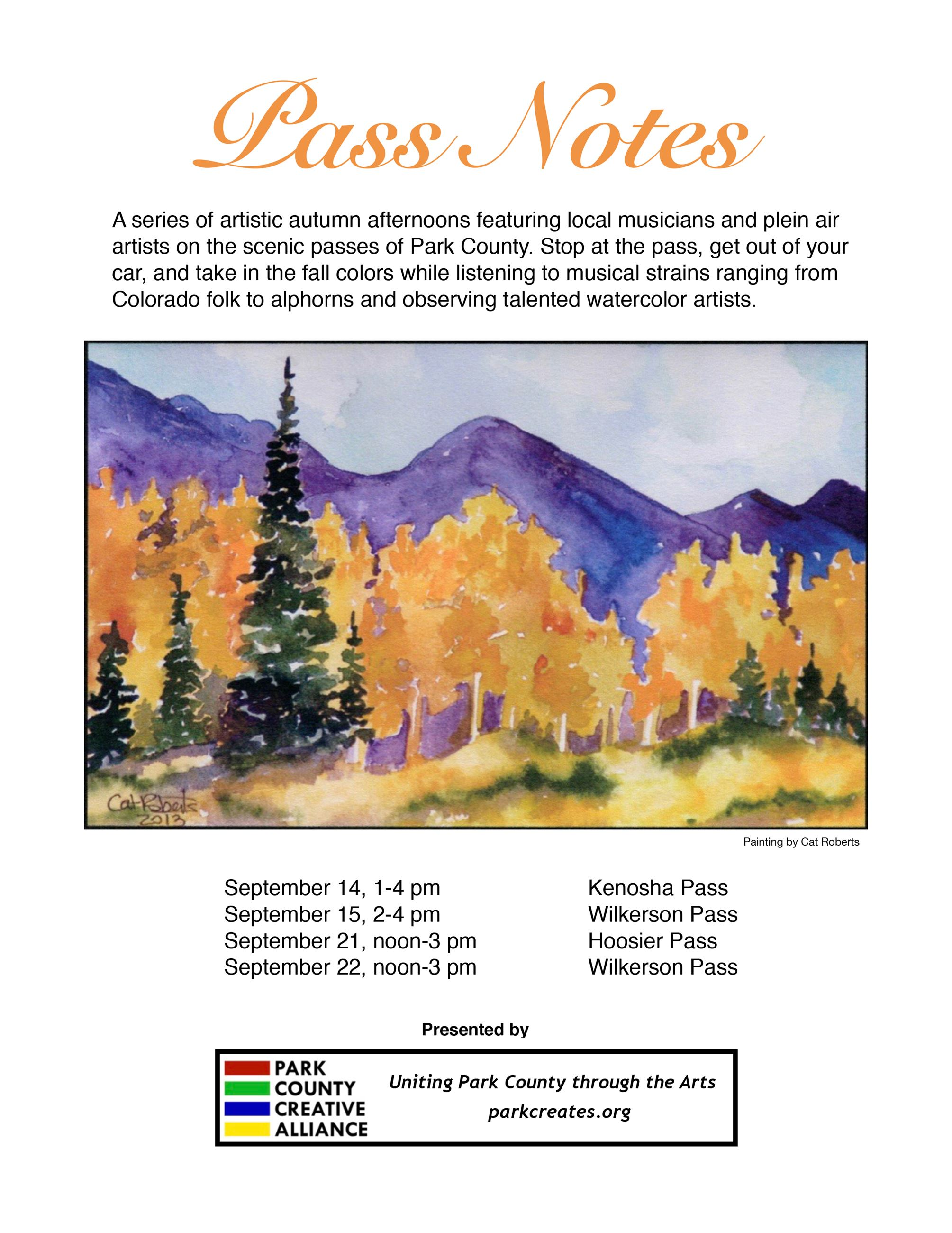 Pass Notes Flyer