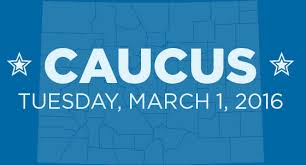 Caucus Tuesday, March 1, 2016
